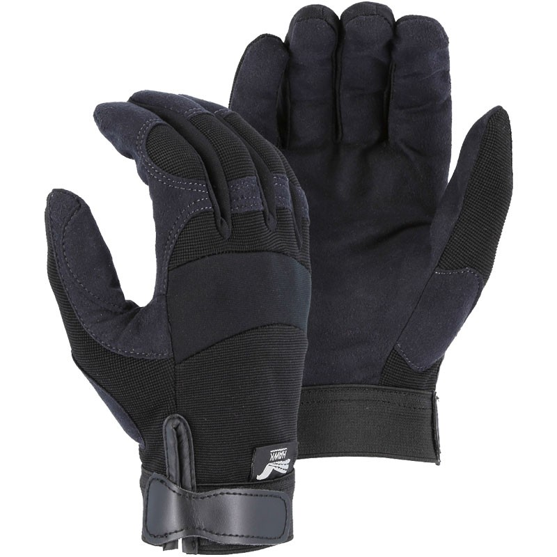 ARMORSKIN™ Synthetic Leather Mechanics Glove - X-Large