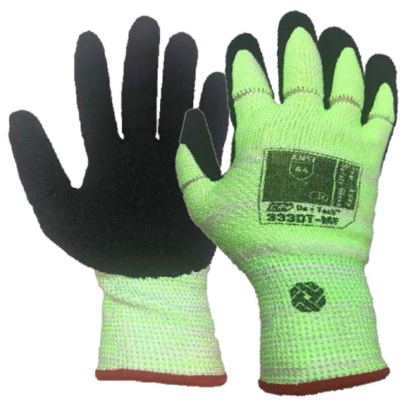 Tilsatec® Cut-Resistant, Tear-Away Safety Glove, Nitrile Foam Grip, Small