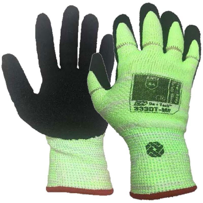 Tilsatec® Cut-Resistant, Tear-Away Safety Glove, Nitrile Foam Grip, 2-XL