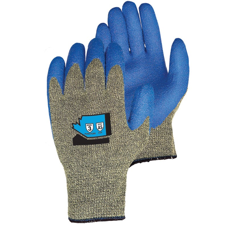 Emerald CX® Cut Resistant Glove, Latex Coated Palm, Small
