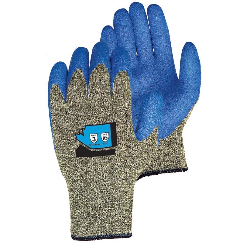 Emerald CX® Cut Resistant Glove, Latex Coated Palm, Large