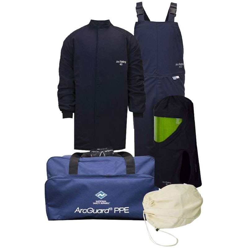 40 CAL/CM² Arc Flash Kit W/ Balaclava without Gloves, 2-XL