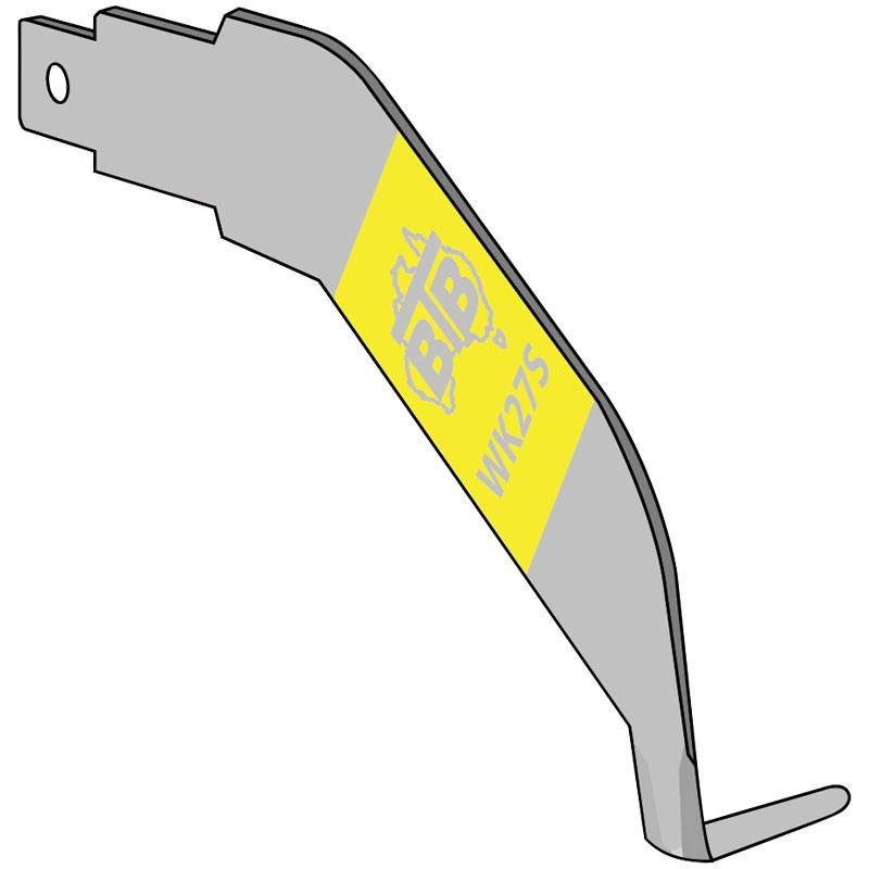 """BTB Left Hand Cold Knife Blade - 1"""" Tip"""