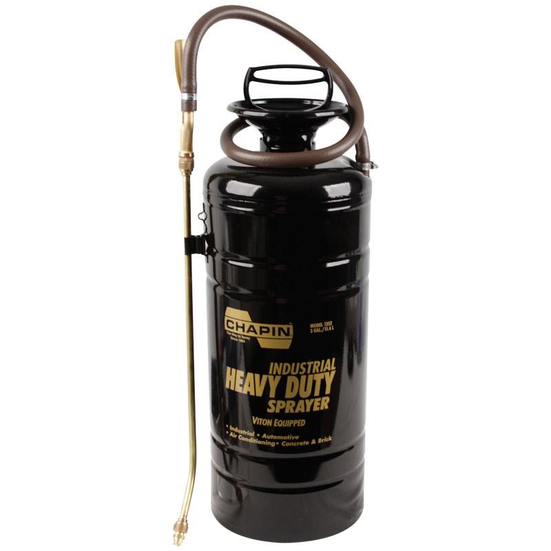Chapin® Multi-Purpose Metal Sprayer w/ Viton® Seals, 3 Gallon