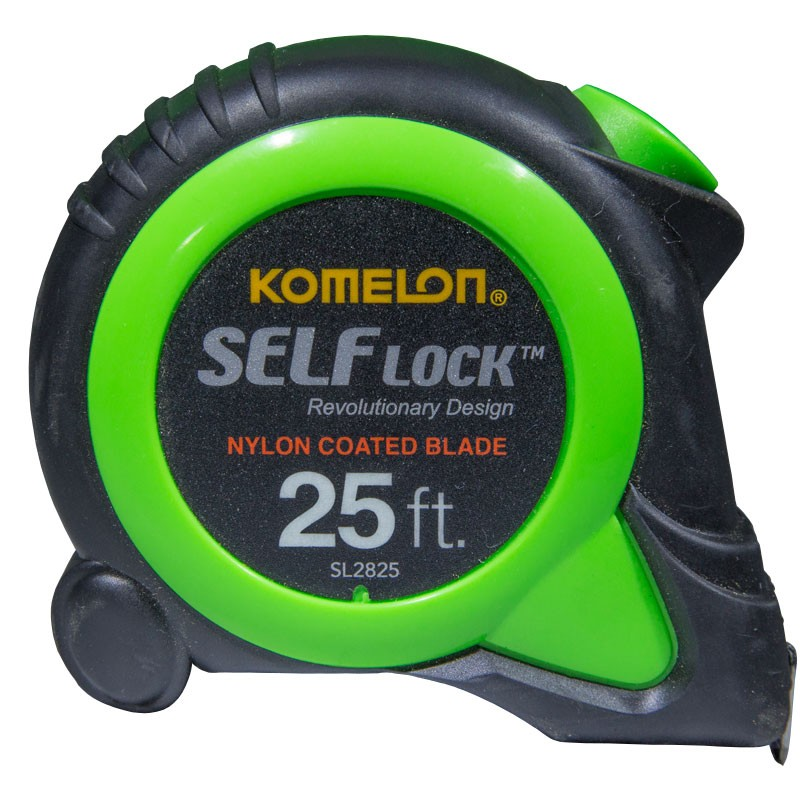 "25' x 1"" Komelon® Self Lock™ Tape Measure - Standard"