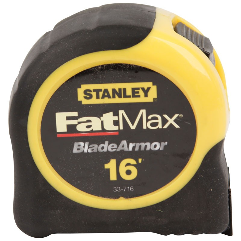 "16' x 1-1/4"" Stanley Fat Max Tape Measure"