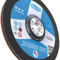"5"" x 1/8 x 7/8"" ZA24-BF Premium Pipeliner Plus Cut-Off Wheel"