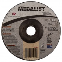 "6"" x 1/4"" x 7/8"" Medalist® Ceramic Grinding Wheel"