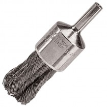 "1-1/8"" Knot Wire End Brush .014"" Steel"