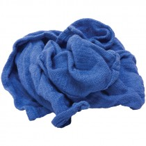 Reclaimed Huck Towels - Blue - 25 LB. Case