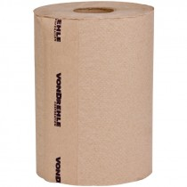 #835N VonDrehle® Preserve® Hardwound Towels - Brown - 350' - 12 Rolls / Per Case