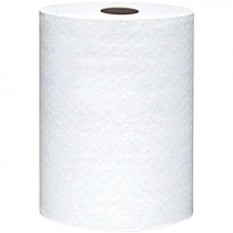 #860B VonDrehle® Preserve® Hardwound Towels - White - 600' - 12 Rolls / Per Case