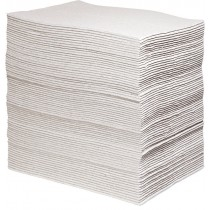 "15"" x 19"" Universal Eco-Grade Sorbent Pads, Heavy Weight (75 Pads per Bale)"