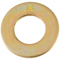 "9/16"" SAE Grade 8 Zinc Yellow Plated Washer"