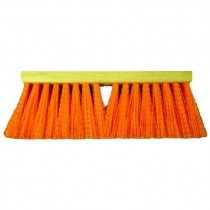 "16"" OSHA Orange Flexsweep Street Broom Head"