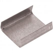 "3/4"" x 1"" Open Metal Steel Strapping Seal -1,000 Per Box"