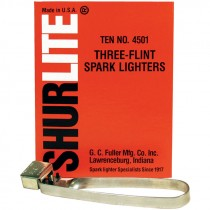 Tri-Flint Spark Lighter