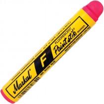 Red Markal® F Paintstik® Flourescent Solid Marker