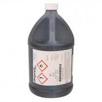 0514001 - RUBBER TYPE INK - BLACK - 1 GAL