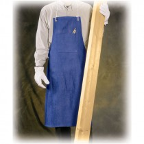 100% Cotton Blue Denim Shop Apron - 2 Pocket