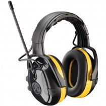 Hellberg® Electronic Ear Muff with AM/FM Radio & Active Listening - NRR 24