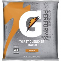 Gatorade® 2-1/2 Gal. Powder Mix - Orange (Sold  in Boxes of 32)