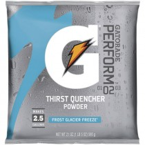 Gatorade® 2-1/2 Gal. Powder Mix - Glacier Freeze (Sold  in Boxes of 32)