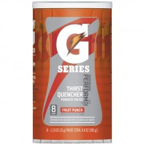 Gatorade® Fruit Punch Single Serve Powder Packs (Makes 20 Oz) - Case of 64