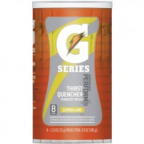 Gatorade® Lemon Lime Single Serve Powder Packs (Makes 20 Oz) - Case of 64