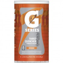 Gatorade® Orange Single Serve Powder Packs (Makes 20 Oz) - Case of 64