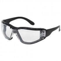 Zenon Z12™ Safety Glasses, Foam Lined, Clear Lens - Anti-Scratch/Anti-Fog