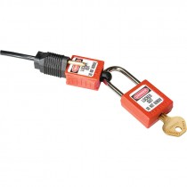 Compact Plug Prong Lockout, 110-120 Volt Plugs