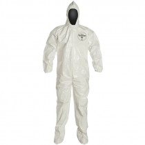 DuPont™ Tychem® SL122B WH Coverall, Medium