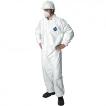Tyvek Coverall w/ Elastic 5.4 mil, 2-XL