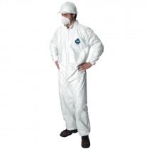 Tyvek Coverall w/ Elastic 5.4 mil, Large