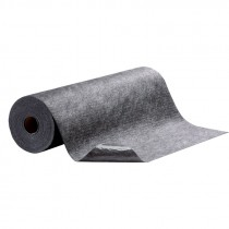 "36"" x 100' Hi-Traffic Absorbent Mat, Adhesive Back, Gray"