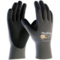 MaxiFoam® Lite™ Nylon Glove, Light Nitrile MicroFoam Grip, Medium