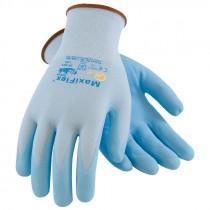 MaxiFlex® Active™ Blue Nylon Glove, Nitrile MicroFoam Grip, Large
