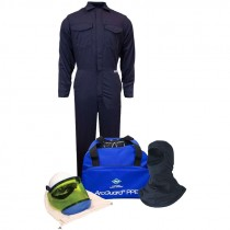 12 CAL/CM² Arc Flash Kit W/ Balaclava without Gloves, 4-XL