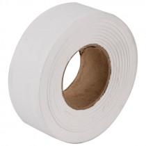 "1-3/16"" x 100 Yd Flagging Tape - White"