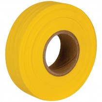 "1-3/16"" x 50 Yd Flagging Tape - Yellow"