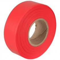 "1-3/16"" x 50 Yd Flagging Tape - Red"