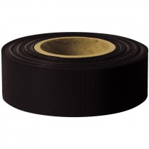 1 3/16 X 100Y BLACK FLAGGING TAPE