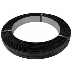 """3/4"""" x .023"""" x Black Steel Strapping"""