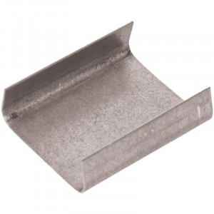 """5/8"""" x 1"""" Open Metal Steel Strapping Seal"""