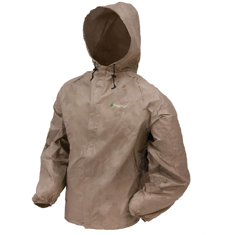 Frogg Toggs® Ultra Lite® Raincoat Khaki, Large