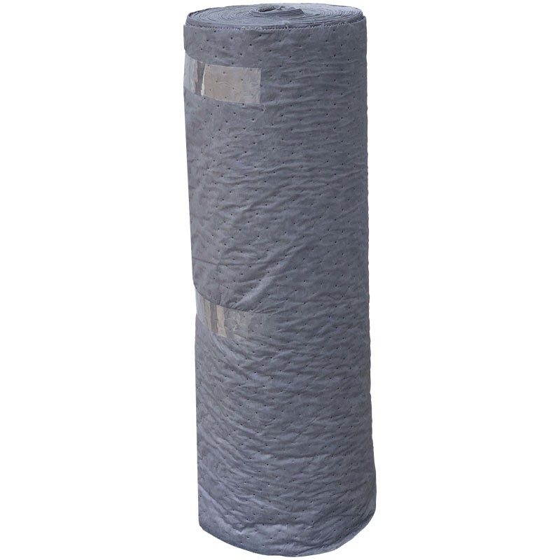 """48"""" x 48"""" Pallet Sorbent Pads On a Roll, (37) Universal/Gray Pads Per Roll"""