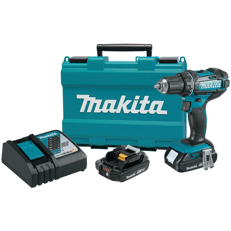 18V Compact Lithium-Ion Cordless Drill