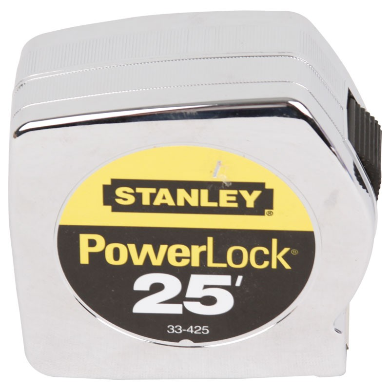 "25' x 1"" Stanley Powerlock tape"