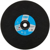 "12"" x 1/8"" 1""/20MM Gas Saw Cut Off Wheel, For Steel (Max RPM: 5,500)"